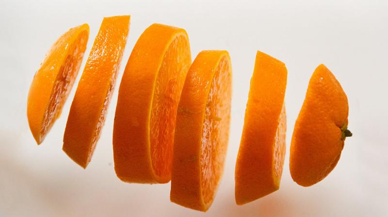 Orange peels could be key to delivering airborne medicine. (Photo: Pexels)