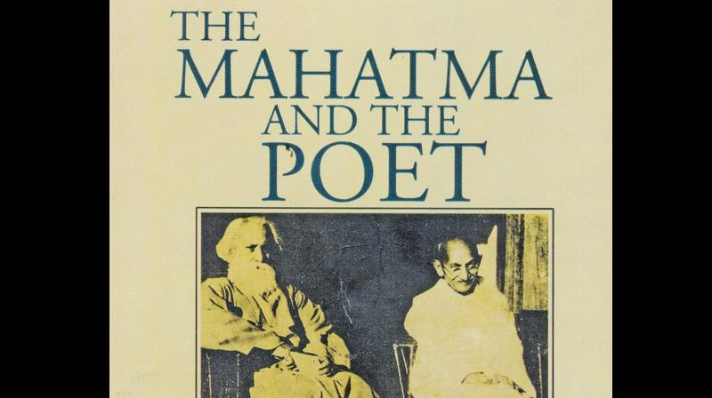 THE MAHATMA AND THE POET, Compiled and Edited by Sabyasachi Bhattacharya National Book Trust, New Delhi