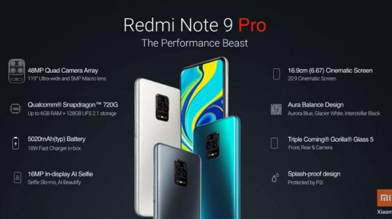 First Look Of The Redmi Note 9 Pro With Specs