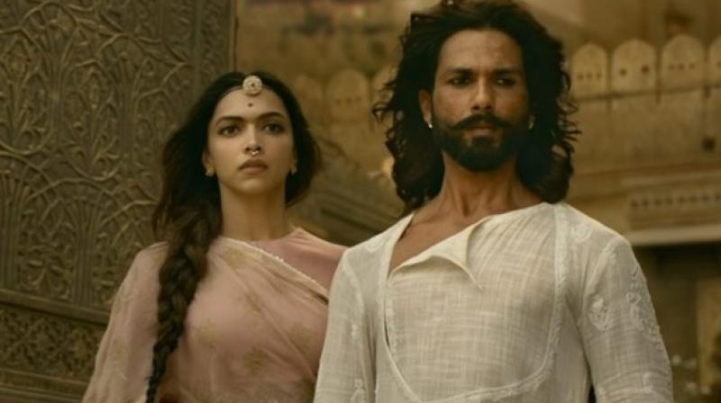 The film has been banned in MP and Gujarat, both of which have BJP governments but the Yogi Adityanath government in UP has said it won't stop the film's release.
