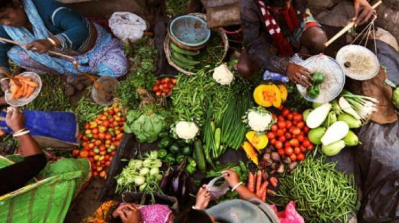 Inflation based on wholesale prices eased to a four-month low of 4.53 per cent in August on softening of prices of food articles, especially vegetables.