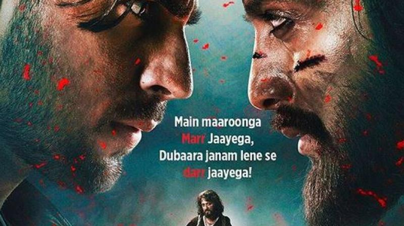 Sidharth Malhotra and Riteish Deshmukh. (Image Source: Instagram/ sidmalhotra)