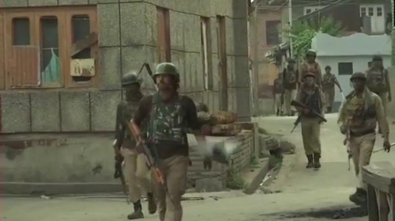 Six militants were killed in the operation and weapons were recovered from the spot. (Representational Image)