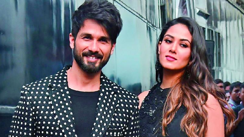 Shahid Kapoor and Mira Rajput's candid pictures