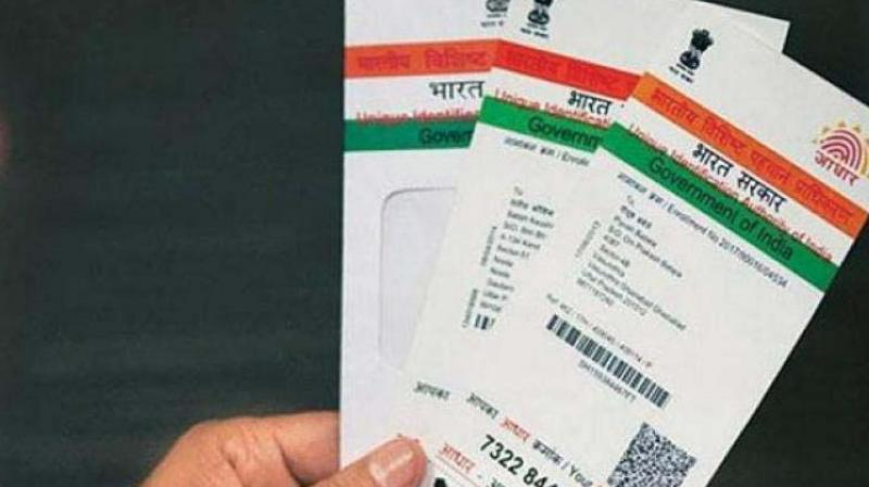 It was argued that Aadhaar law ex-facie violated an individual's fundamental right to privacy. (Representational Image)