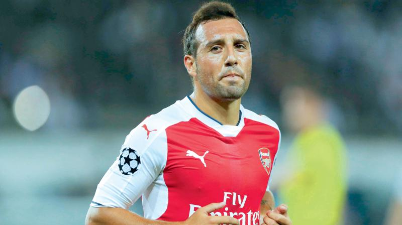 Cazorla, a former Arsenal midfielder, hadn't made it to the squad in four years because of a series of serious injuries.