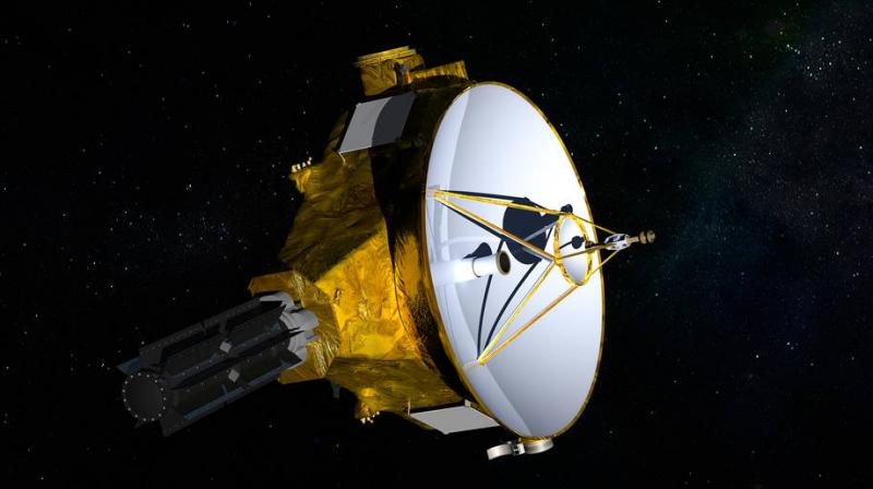 Artist's impression of NASA's New Horizons spacecraft, en route to a January 2019 encounter with Kuiper Belt object 2014 MU69. (Photo: NASA)