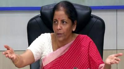 Finance Minister Nirmala Sitharaman. (Photo: ANI)