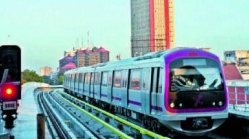 A 50-year-old man was apprehended at a Delhi Metro station in Ghaziabad on Monday for allegedly carrying a pistol and live bullet rounds in his bag (Photo: File)