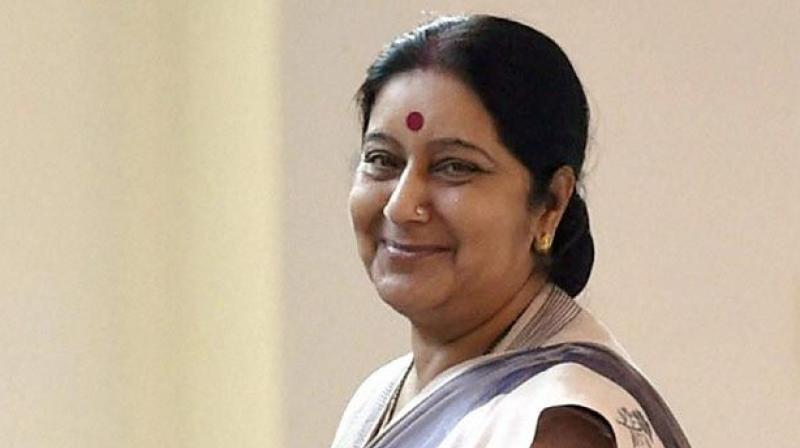 Sushma Swaraj is the Lok Sabha MP from Vidisha in Madhya Pradesh. (Photo: File)