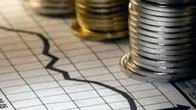 """Financial sector fragilities continue to weigh on India's economic growth momentum, with the high level of non-performing loans on the balance sheets of the public sector banks constraining their new lending,"" IHS said."