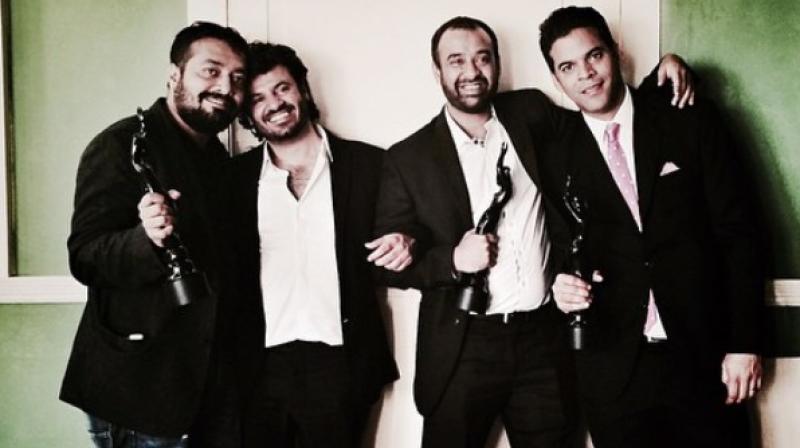 Apart from Vikas Bahl, Anurag Kashyap and Vikamaditya Motwane, Phantom Films' fourth member was Madhu Mantena.