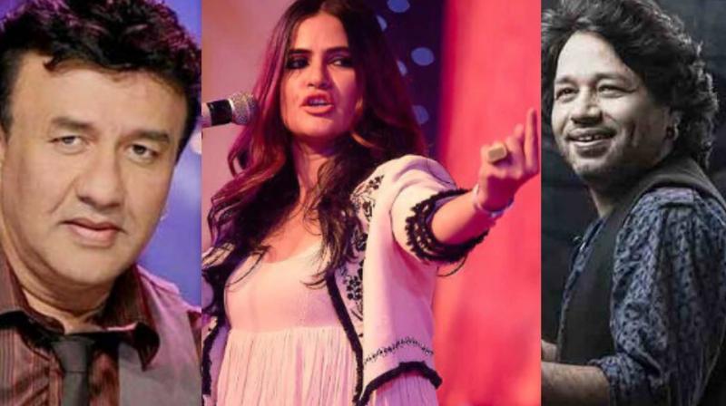 Anu Malik, Sona Mohapatra and Kailash Kher.