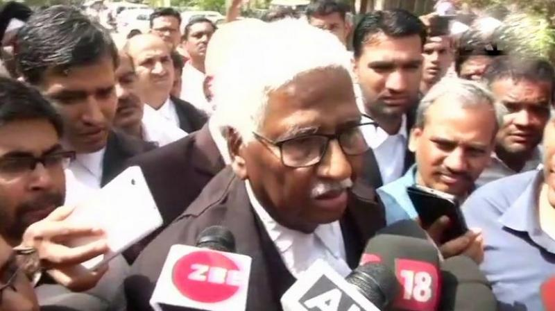 Salman Khan lawyer Mahesh Bora today said he has received threat calls on Thursday warning him not to appear for the actor's bail plea in Jodhpur court on Friday. (Photo: ANI | Twitter)