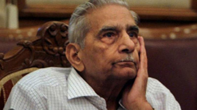 Senior advocate Shanti Bhushan has stated that 'master of roster' cannot be unguided and unbridled discretionary power, exercised arbitrarily by the CJI. (Photo: File | PTI)
