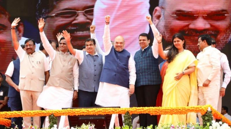 Cats, dogs, snakes uniting to face Modi: Amit Shah mocks Oppn's anti