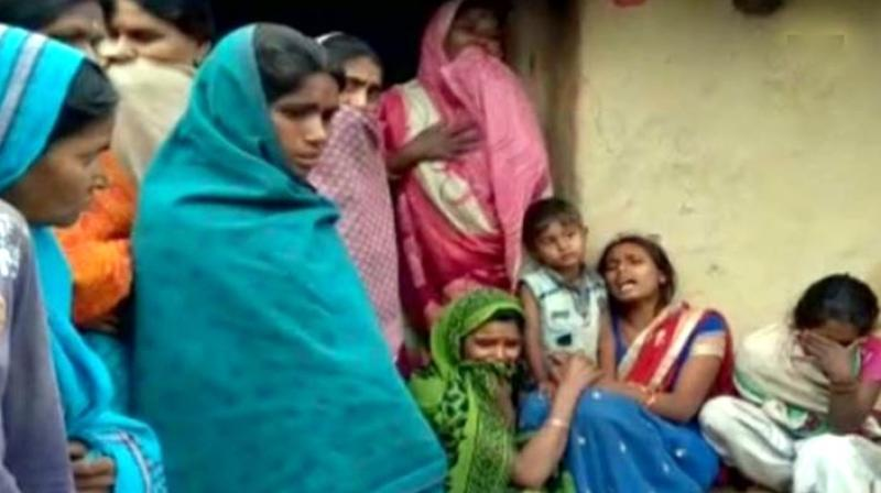 The parents had brought their children to an Anganwadi Centre in Loenga village for vaccination against Japanese encephalitis, measles and DPT. But hours after they were administered the dose by the village's Auxiliary Nurse Midwife (ANM), their health deteriorated. (Photo: ANI)