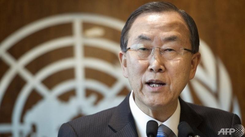 UN Secretary-General, Ban Ki-moon  (Photo: AFP)