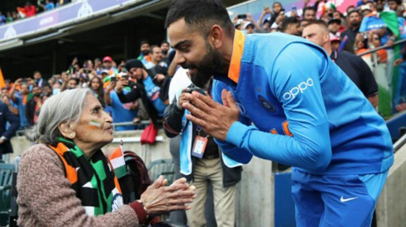 Kohli also took to Twitter to express his gratitude to Patel and other Indian fans. (Photo: Virat Kohli/Twitter)
