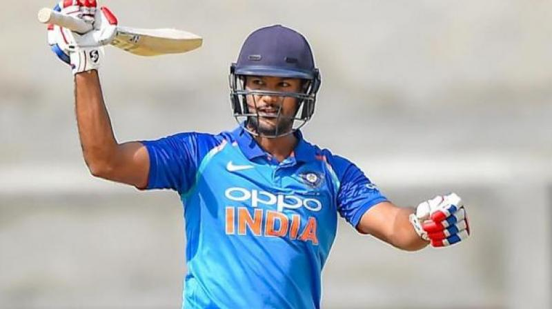 Agarwal's India A form has been quite remarkable, with the Karnataka man finishing with 287 runs from just four games. (Photo: PTI)