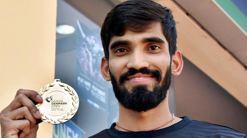 Kidambi Srikanth created a sensation this year by winning four Super Series titles besides finishing runner-up in another. (Photo: PTI)
