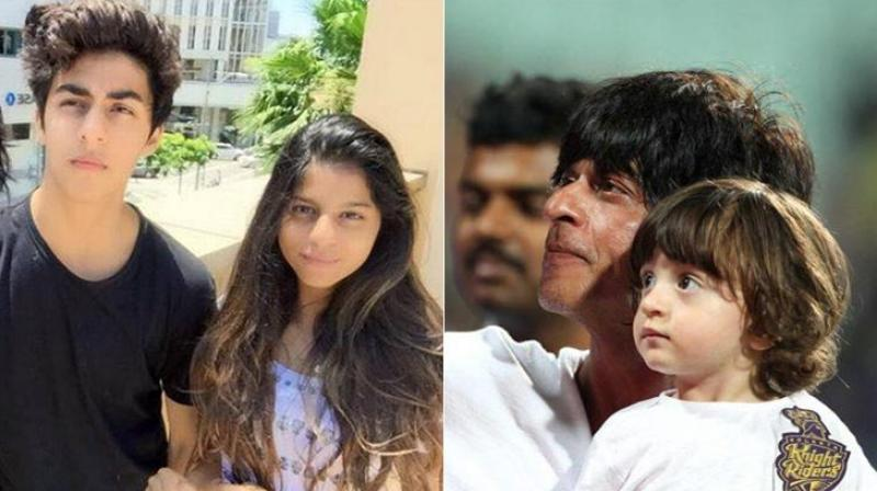 Shah Rukh's kids, Aryan, Suhana and AbRam are already quite popular.