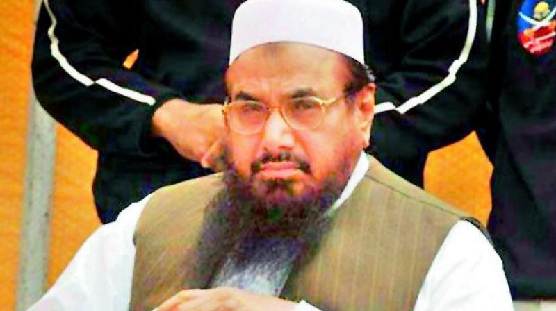 Mumbai terror attack mastermind Hafiz Saeed. (Photo: DC)