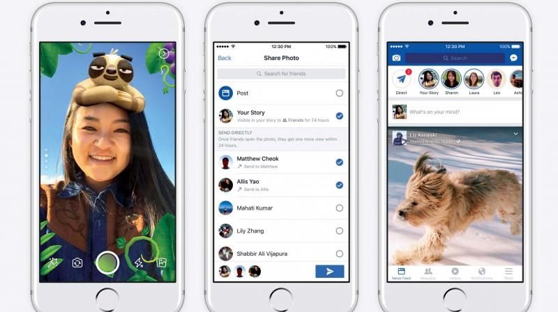 This time, users have spotted that Facebook is trying to bring about a Tinder inspired upgrade to its feature. Facebook is also borrowing Instagram's Stories since no one is using Facebook Stories.