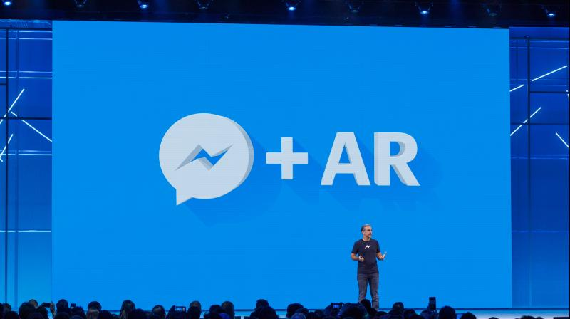 Silicon Valley tech firms are pouring money into augmented reality, a mix of the real and digital worlds best known from the game Pokemon Go. (Photo: Facebook)