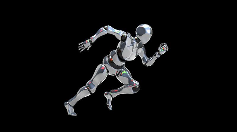 Humanoid robot that sweats during exercise developed. (Photo: Pixabay)