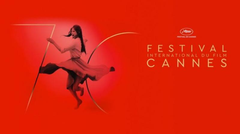 Official poster of Cannes Film Festival'17.