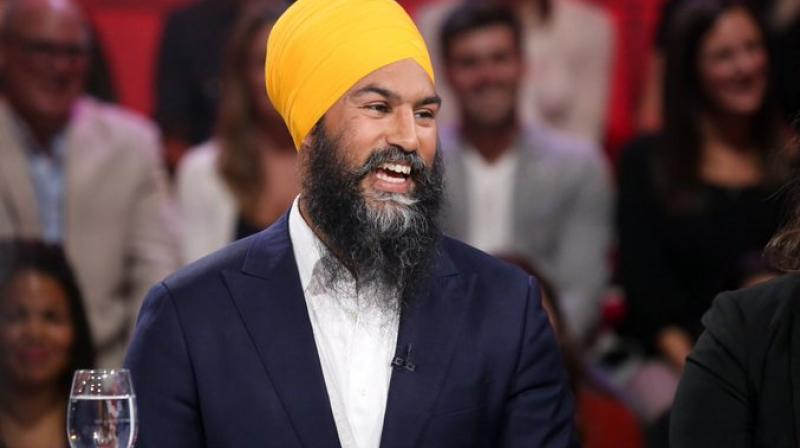 Later on, the leader while talking about the incident said, 'Many Canadians are told that we must change who we are to succeed. My message to you: do not change who you are. Everyone deserves his place.' (Photo: Twitter   @theJagmeetSingh)