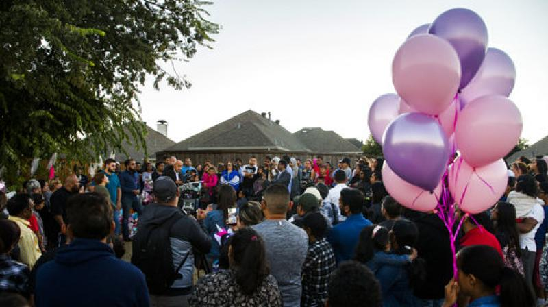 Over the past two weeks, Sherin brought the whole community together in the suburb, as countless volunteers searched in and around Richardson hoping to find her. (Photo: AP)