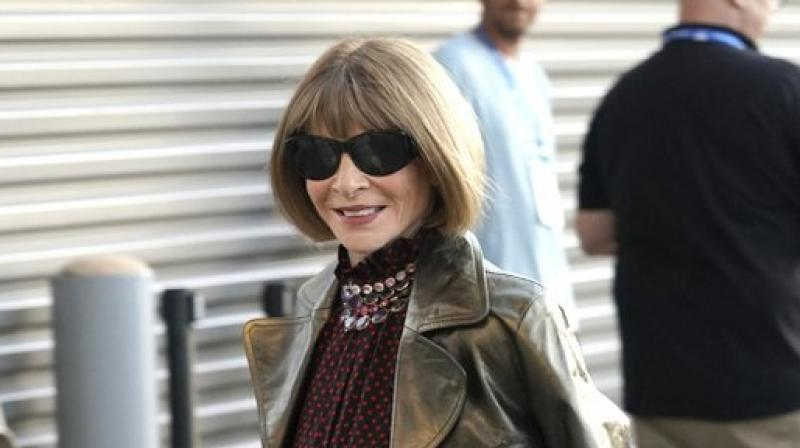 Anna Wintour has made her mark as one of the most influential people in fashion. (Photo: AP)