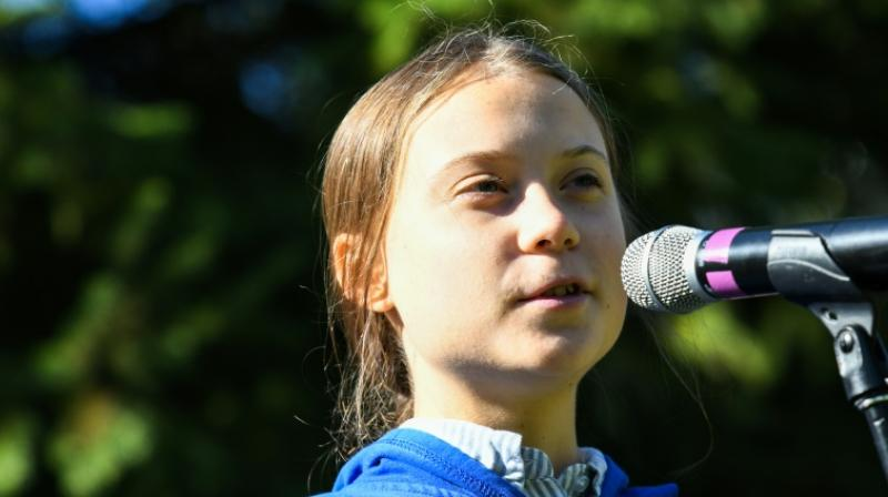 Swedish teen activist Greta Thunberg departed the United States on Wednesday, hitching a ride to Europe aboard a catamaran to attend a UN climate summit in Madrid. (Photo: File)