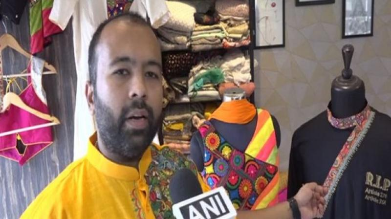 Tailor inspired by Kashmir for Navratri dresses