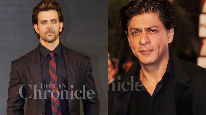 Hrithik and SRK have time and again praised each other.