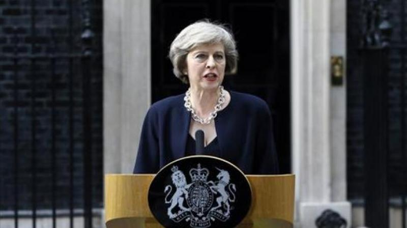 UK Prime Minister Theresa May (Photo: PTI)