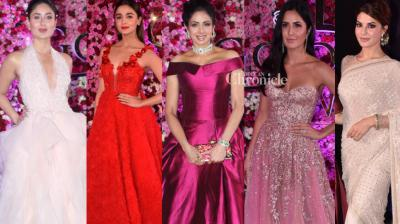 Bollywood stars, especially the actresses, turned up in their fashionable best at the Lux Golden Rose Awards 2017 held in Mumbai on Sunday. (Photo: Viral Bhayani)