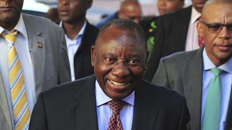 The 65-year-old leader was elected as the new President of the African National Congress two months ago. (Photo: AP)