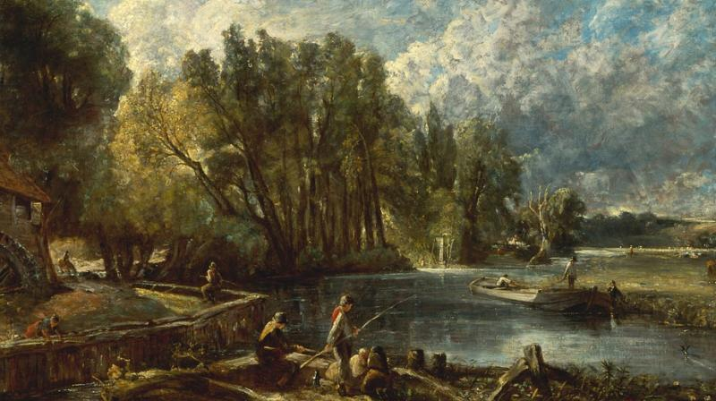 Constable Painting Lost For 200 Years Sells For 163 375 000