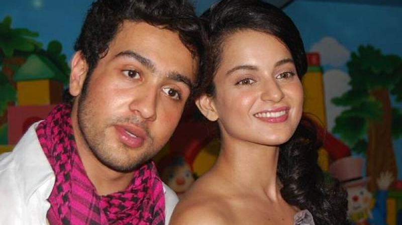 Adhyayan Suman and Kangana Ranaut worked in only one film together.