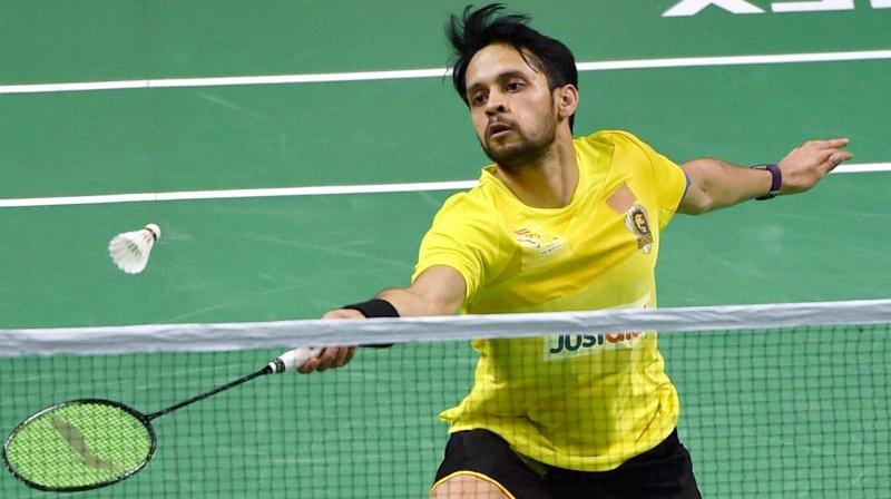 Unseeded in the tournament, Kashyap started his campaign against Lee Dong Keun of South Korea, which also marked the fifth meeting between them with their head-to-head record tied at 2-2. (Photo: PTI)
