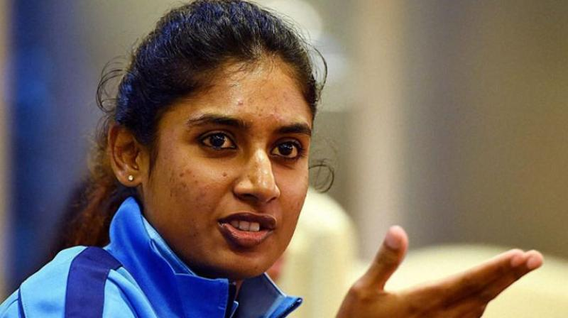 "The Indian women's cricket coach Ramesh Powar Wednesday conceded to having a ""strained"" relationship with senior player Mithali Raj but insisted that her contentious dropping from the World T20 semifinal was based solely on cricketing logic, a Board official has claimed. (Photo: PTI)"
