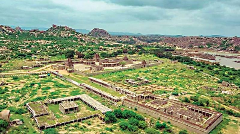 In 1988, UNESCO declared Hampi a world heritage site.