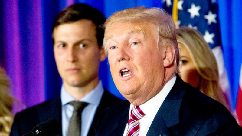 Mr Kushner, a wealthy New York businessman married to Trump's daughter Ivanka, has not received his full security clearance because of his extensive financial links, which have taken a long time to examine. (Photo: AP)