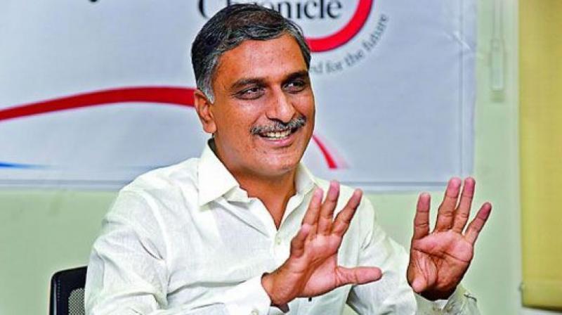 Telangana Irrigation Minister T Harish Rao