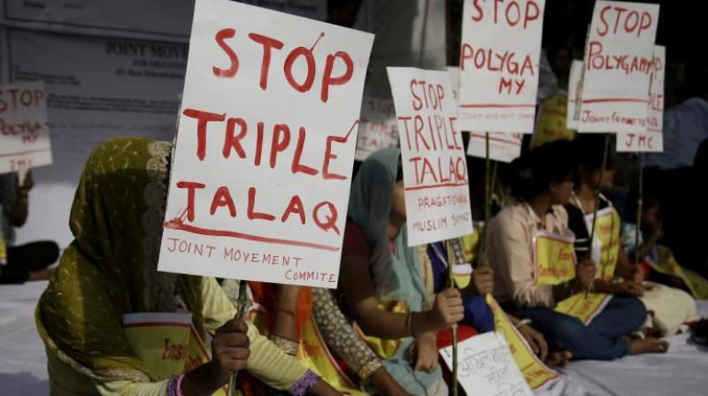Petitioners have questioned the validity of triple talaq and had argued that it infringed with Muslim women's fundamental right to equality. (Photo: PTI/File)