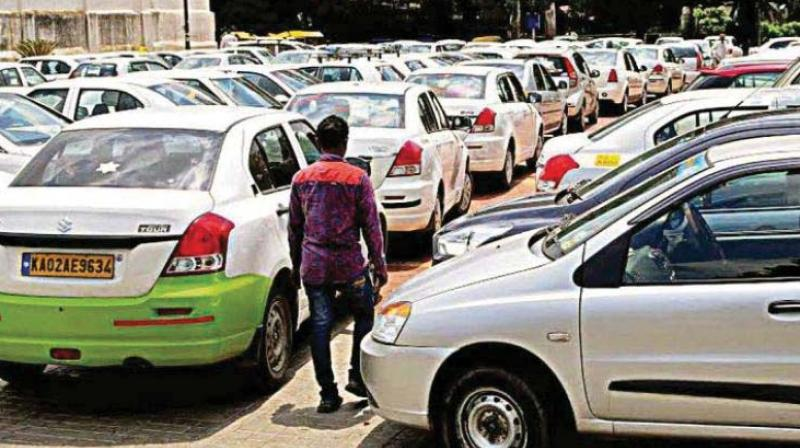As carpooling by private car owners is illegal, aggregators have tried to work around the law by offering pooling/sharing services on commercial taxis. It does seem to be an innovative idea to circumvent the law and to improve the efficiency of a ride.