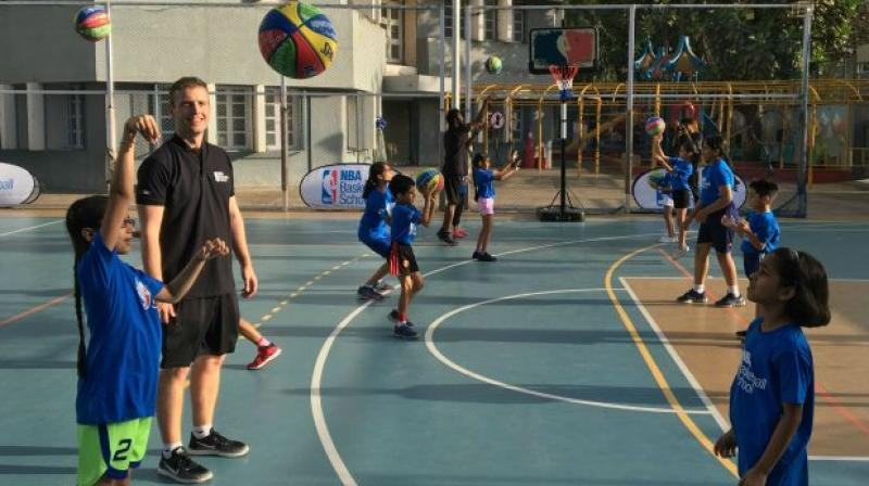 NBA said additional schools will be launched by NBA in India and around the world in the coming months. (Photo: NBA India)